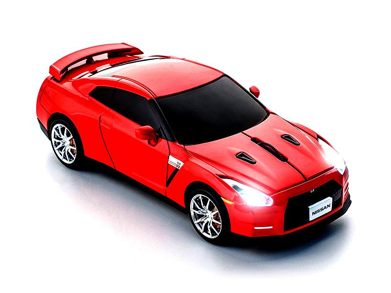 funk 2 4 ghz pc maus nissan gt r r35 rot wireless mouse ccm660271 ebay. Black Bedroom Furniture Sets. Home Design Ideas